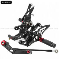 For HONDA CBR1000RR 12-18 Rearset Foot Rest Peg Rear Set Brake Shift Pedal Lever