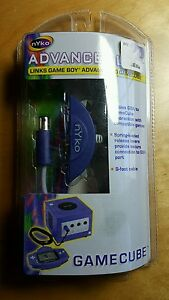 Nyko - Advance Link - Game Boy Advance to GameCube Link - Brand New
