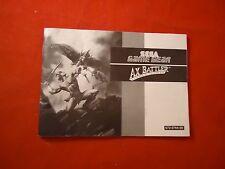 Ax Battler Legend of Golden Ax Sega Game Gear Instruction Manual Booklet ONLY