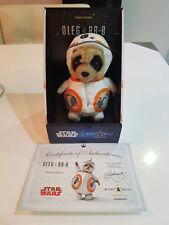 Star Wars Meerkat Bebé Oleg BB8 Edición Limitada Nuevo Y En Caja Con Certificado
