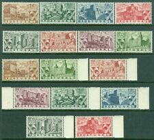 EDW1949SELL : PORTUGAL 1946 Sc #662-69. 2 Cplt sets. Mint, disturbed OG Cat $237