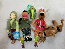 Big Scooby Doo beanie babies, plush, toys LOT (Warner Brothers Store, vintage)