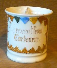 VINTAGE SHAVING MUG W/ SOAP COMPARTMENT, MADE IN GERMANY