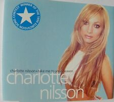 CHARLOTTE NILSSON TAKE ME TO YOUR HEAVEN CD SIINGLE 4 TRACKS