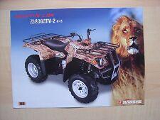 Chongqing Jianshe Mountain Lion JS 400 ATV-2 Prospekt / Brochure, China