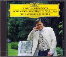Christian THIELEMANN: SCHUMANN Symphony No.1 & 4 Frühlingssymphonie Spring DG CD