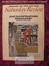 Saturday Review July 10 1971 ARE ILLUSTRATORS OBSOLETE? Stuart W. Little