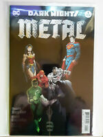 Dark Nights Metal #1 Cover A 1st Ptg Regular Greg Capullo Foil-Stamped Cover
