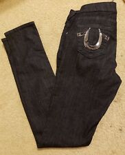 True Religion Blue Long Skinny Jeans Size 28