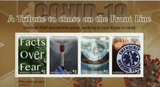 More details for marshall islands medical stamps 2020 mnh corona tribute to front line 4v m/s