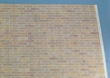 1/12 Scale: Miniature Faux Brick Wall Wallpaper for Dollhouse NICE #WCPP106