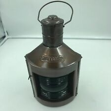 Ship Starboard Copper Lantern Lamp - Star Board Masthead Green, Pirate, Hanging