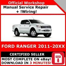 2001 ford ranger workshop service repair manual