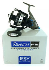 New QUANTUM BOCA BSP120PTSE 4.7:1 GEAR RATIO SPINNING REEL