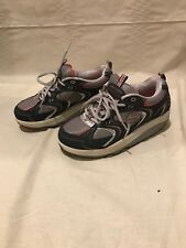 Skechers Shape - Ups Women's Blue/Gray/Pink Walking Shoes Sz 8.5