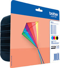 LC223VALBP Brother Dcp-j4120dw Ink CTG CMYK Value Pack