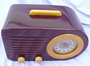 ANTIQUE FADA CATALIN TUBE RADIO #1000