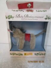 Steiff Donkey ornament