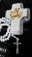 12 First Communion Favors Cross Christening Rosary Primera Comunion Recuerdos