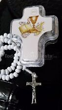 12 First Communion Favors Cross Christening Rosary Primera Comunion Recuerdos