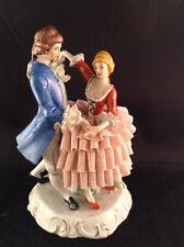 Porcelain Figurine Couple Dancing