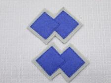 WW2  AIF 2/4th commando squadron colour patchs x1 pair =2