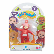 Teletubbies Deluxe Collectible Figure Po with Scooter Red 8.5 cm tall