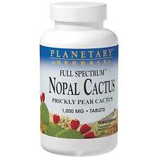 Planetary Herbals Nopal Cactus, Full Spectrum Prickly Pear 1,000 mg, 120 Tablet