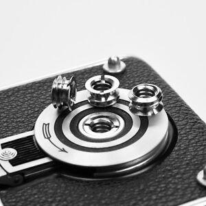 Rolleiflex Ersatzteil Spare Part Adapter -Gewinde Screw Cap 2Pcs (Electroplate)