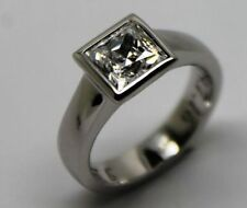 Simulated Stone White Gold Fine Rings