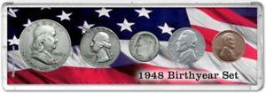 Birth Year Coin Gift Set, 1948