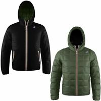 K-WAY JACQUES THERMO PLUS DOUBLE BLACK-TORBA 360 € UOMO KWAY A/I 2016 TAGLIA S