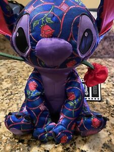 2021 New Limited Stitch Crashes Disney Beauty And The Beast Plush NWT
