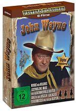 DVD John Wayne Box Westernklassiker 6 Filme Digital Remastered WIE NEU !!!