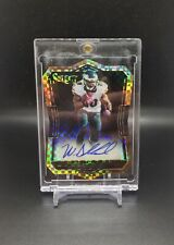 2016 Select Wendell Smallwood RC 1/1 AUTO Die Cut Prizm Rookie Eagles