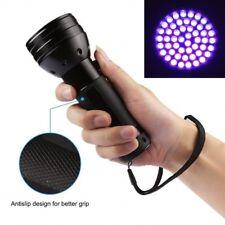 51 LED 395 NM UV Ultra Violet Flashlight Blacklight Torch Light Lamp Aluminum