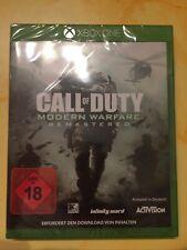 Call of Duty Modern Warfare Remastered Xbox One BRANDNEU