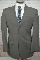 Calvin Klein Mens Brown Wool 3 Button CLASSIC FIT Sport Coat Blazer Jacket 41R