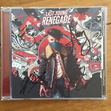 All Time Low - Last Young Renegade Signed Cd Autographed