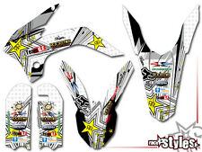 KTM SX 50 65, 16-17 | SX 85 13-17 | MX FMX SILVER DECALS KIT Aufkleber Sticker