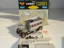 (W) corgi classics 1912 ROLLS ROYCE SILVER GHOST - 9041
