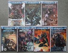 BATMAN-DETECTIVE COMICS #934-940 SET..TYNION IV..DC REBIRTH 2016 1ST PRINT..VFN+
