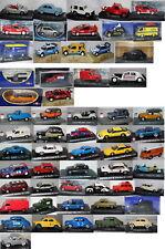 Peugeot, Citroen,Renault Modelle/Autos - Maßstab (1:43) Aussuchen: