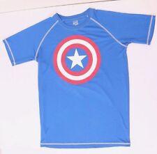 Marvel Comics Captain America Men's Short Sleeve T-Shirt Size M NWT 100% Poly