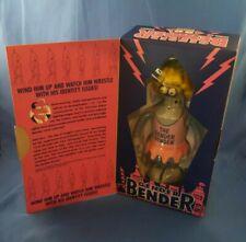 """2007 Rocket USA Futurama GENDER BENDER Robot Wind Up Tin 8"""" Figure NIB"""