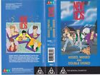NEW KIDS ON THE BLOCK KISSED,MISSED AND DOUBLE DISSED VHS VIDEO PAL~ A RARE FIND