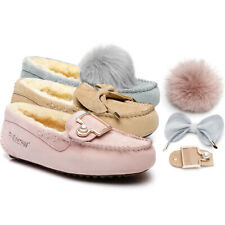 Ever UGG Clover DIY Moccasin with 3 attachments to swap with occasions