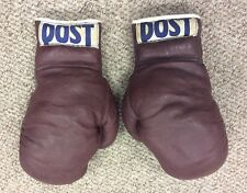 1950's AMATEUR TRAINING GLOVES, CASSIUS CLAY ??? POST NY (Muhammad Ali) BOXING