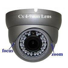 "Sunvision 480TVL Outdoor Metal Dome CCTV Camera CS 4-9mm 1/3"" Sony 36 LEDs (31)"