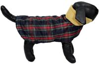 Red Plaid Puffer Warm Vest - For Small Dogs Coat Jacket Pets
